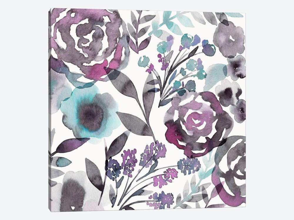 Blooming Plum Garden II by Diane Kappa 1-piece Canvas Art Print