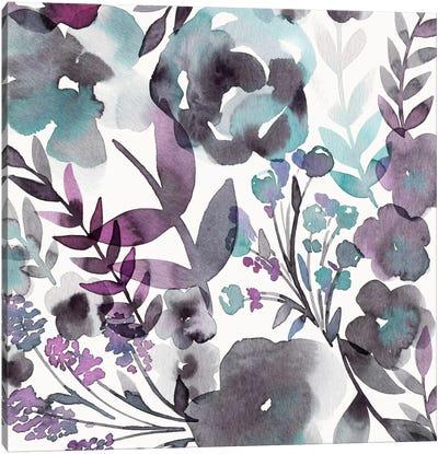 Blooming Plum Garden III Canvas Art Print
