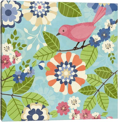 Flock Together I Canvas Art Print