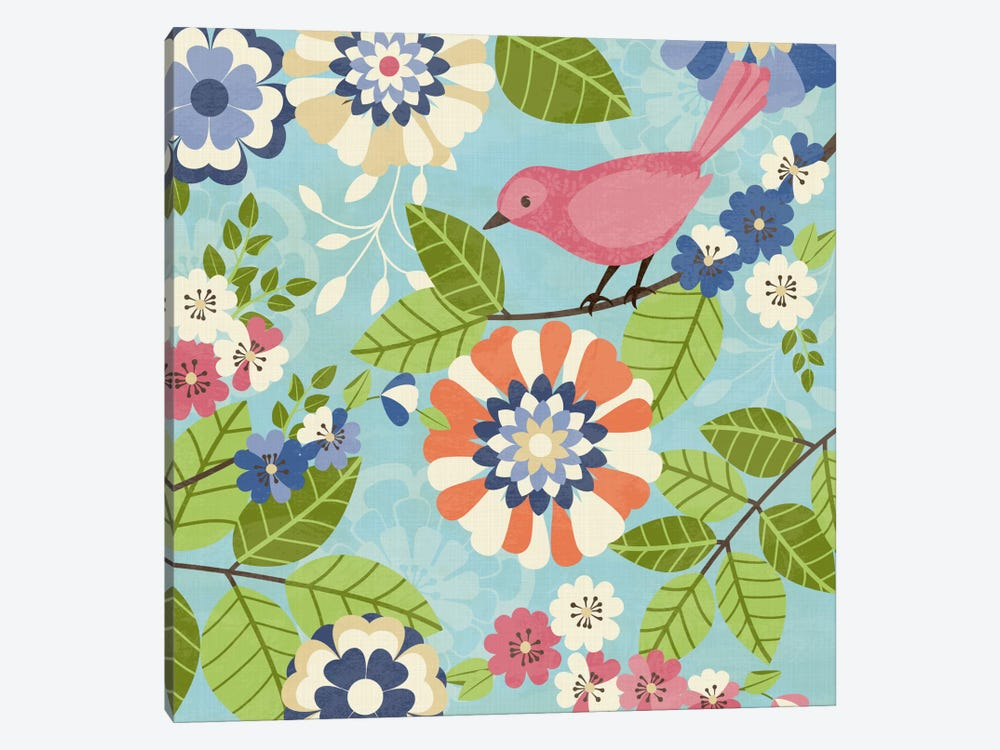 Flock Together I by Diane Kappa 1-piece Canvas Art Print