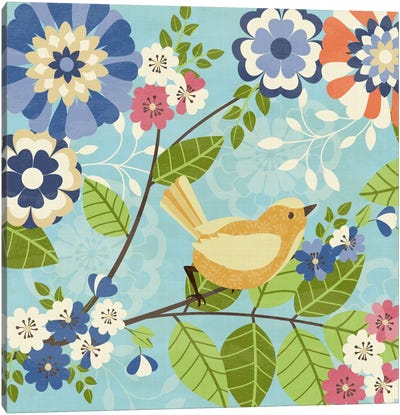 Flock Together II Canvas Art Print
