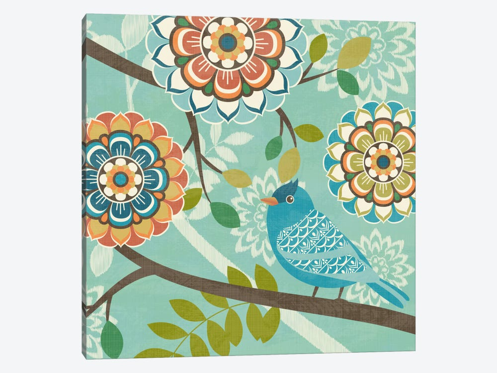 Flock Together IV by Diane Kappa 1-piece Canvas Artwork
