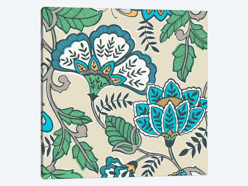 Namaste Floral I by Diane Kappa 1-piece Canvas Art Print