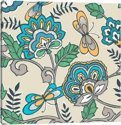 Namaste Floral II Canvas Art Print