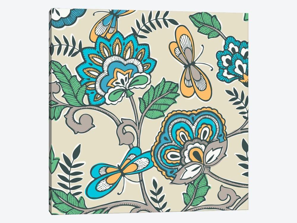 Namaste Floral II by Diane Kappa 1-piece Canvas Wall Art