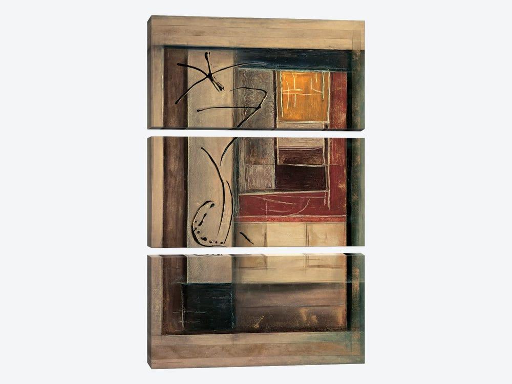 Morgan I by Kati Roberts 3-piece Canvas Artwork