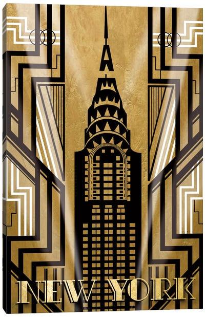 NY Deco Canvas Print #KAT14