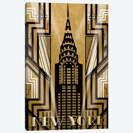 NY Deco Canvas Print #KAT14} by Katrina Craven Canvas Print