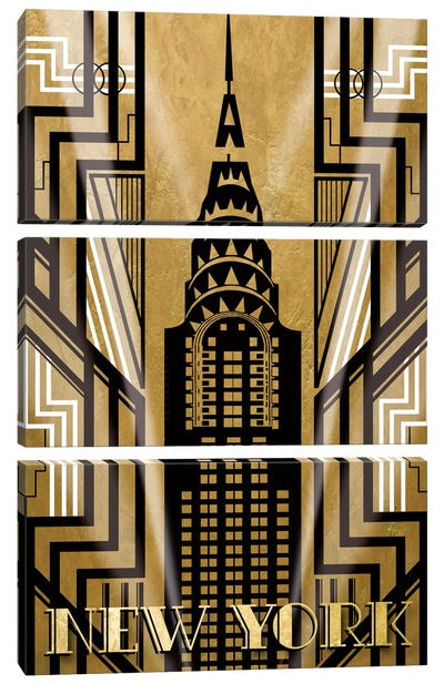 NY Deco Canvas Art Print