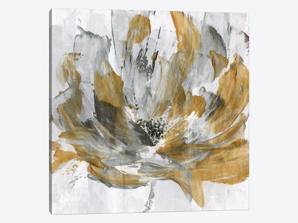 Golden Flower Power by Katrina Craven 1-piece Art Print