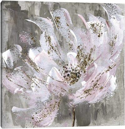 Blushy And Splashy Canvas Art Print