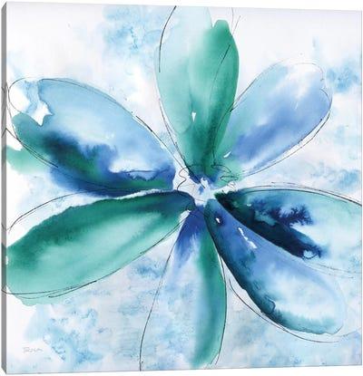 Be Bold Blue II Canvas Art Print