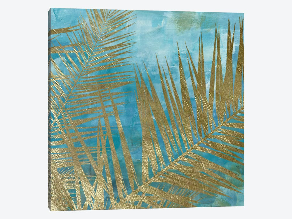 Golden Palm I by Katrina Craven 1-piece Art Print