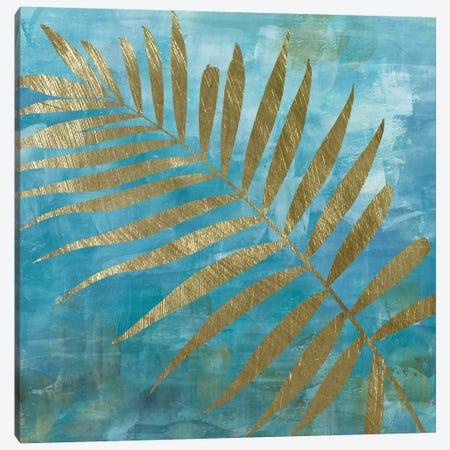 Golden Palm II Canvas Print #KAT30} by Katrina Craven Canvas Artwork