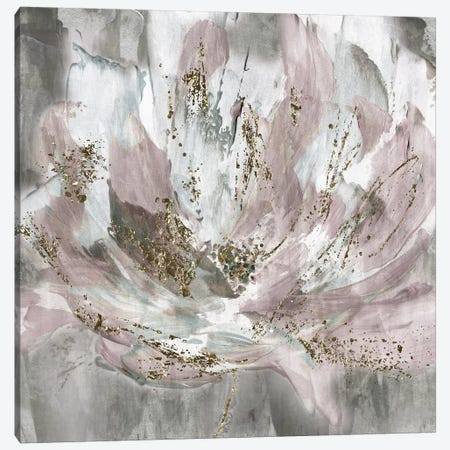 Blush Flower Power Canvas Print #KAT31} by Katrina Craven Canvas Art