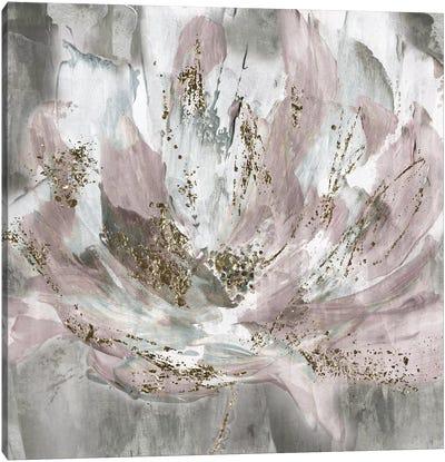 Blush Flower Power Canvas Art Print
