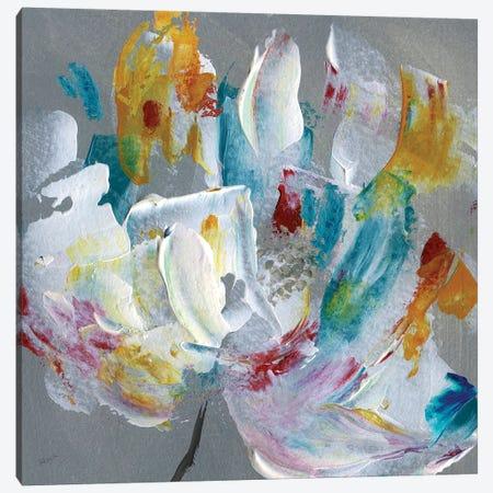 Tie Dye Flower Canvas Print #KAT34} by Katrina Craven Canvas Art Print
