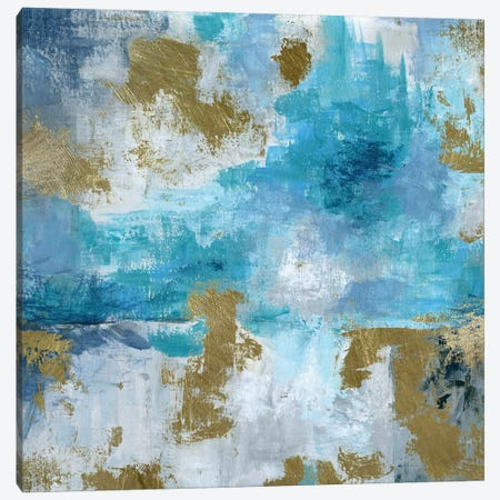 Blue Bombay Canvas Print #KAT36} by Katrina Craven Art Print