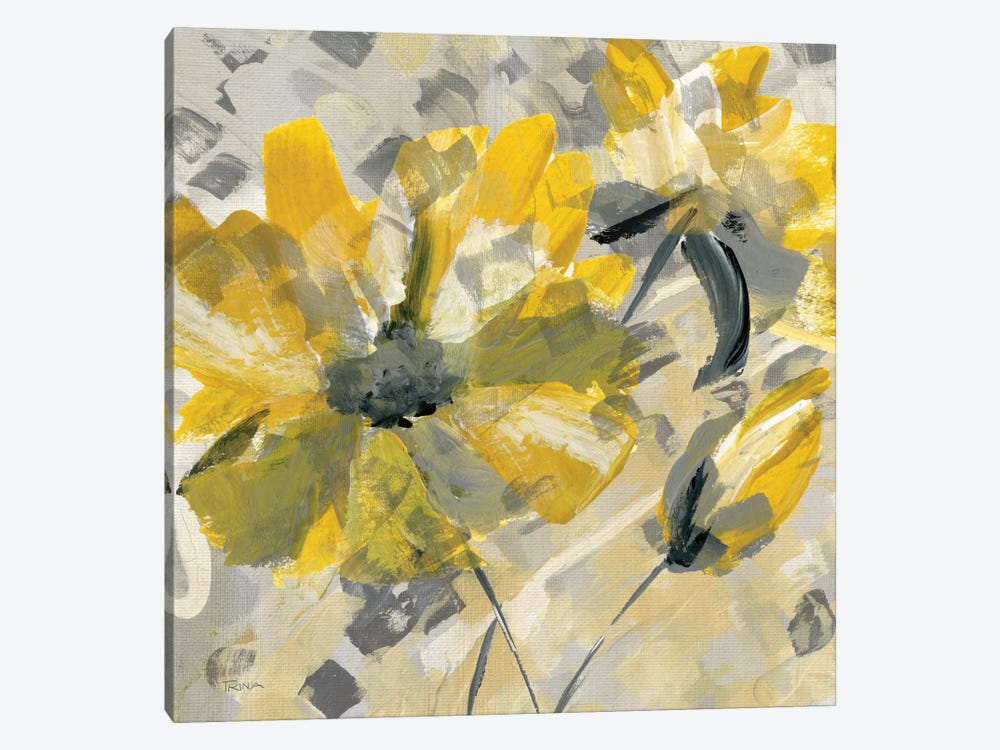 Buttercup I by Katrina Craven 1-piece Canvas Art