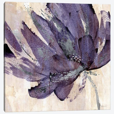 Purple Jewel Canvas Print #KAT42} by Katrina Craven Art Print