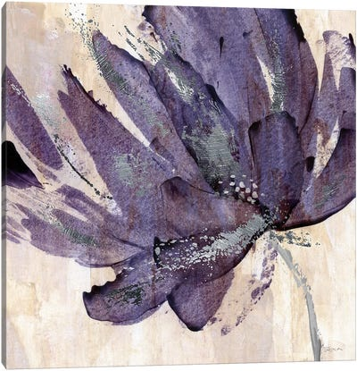 Purple Jewel Canvas Art Print