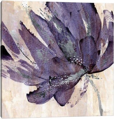 Purple Jewel Canvas Art Print