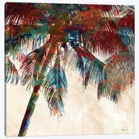 Tropical Punch I Canvas Print #KAT44} by Katrina Craven Canvas Art