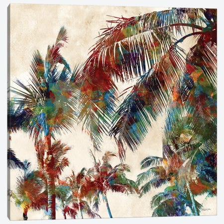 Tropical Punch II Canvas Print #KAT45} by Katrina Craven Canvas Wall Art