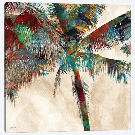 Tropical Punch III Canvas Print #KAT46} by Katrina Craven Canvas Art