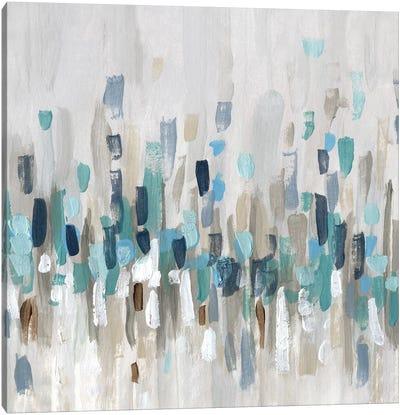 Staccato Blue I Canvas Art Print