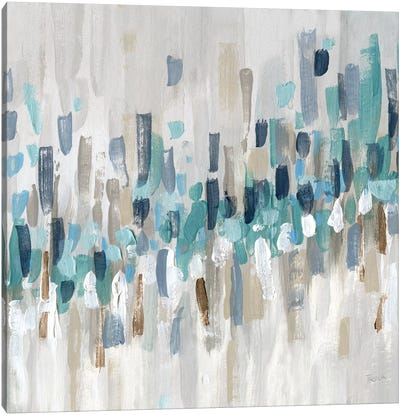 Staccato Blue II Canvas Art Print