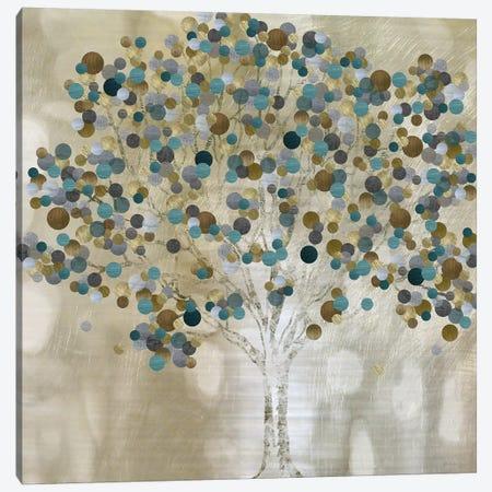 A Teal Tree Canvas Print #KAT53} by Katrina Craven Canvas Art