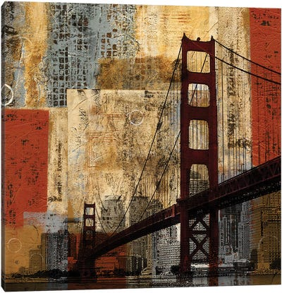 Bay Bridge Canvas Art Print