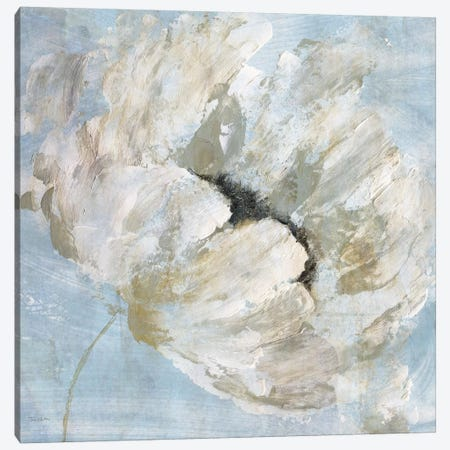 Blue Blanc I Canvas Print #KAT55} by Katrina Craven Canvas Print
