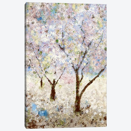 Cherry Blossoms II Canvas Print #KAT59} by Katrina Craven Canvas Artwork