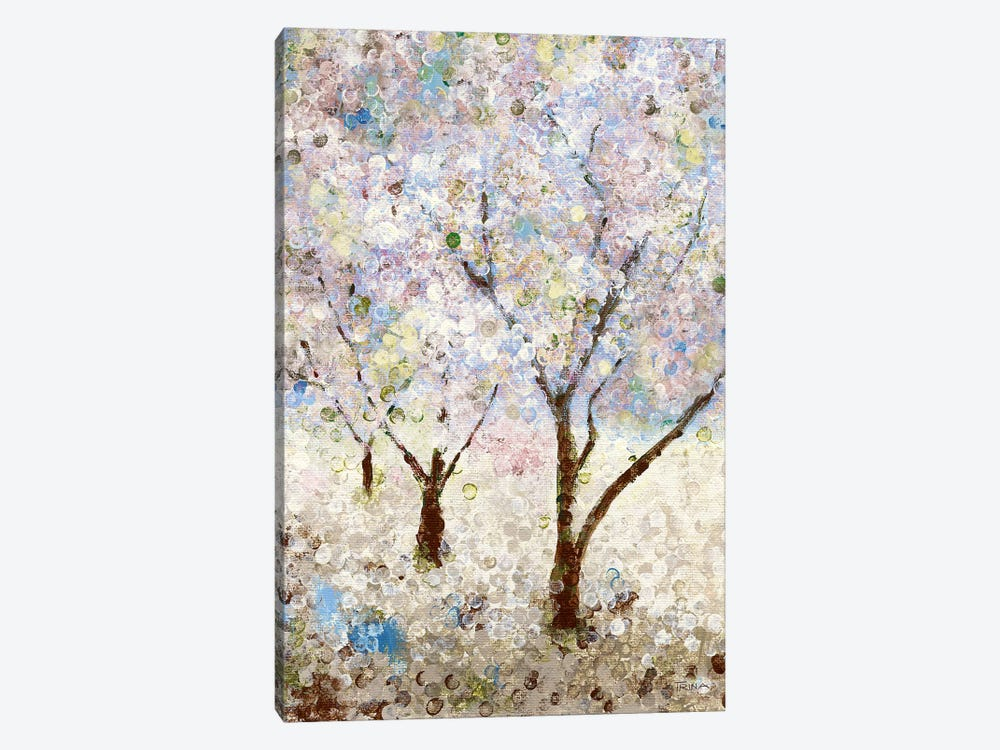 Cherry Blossoms II by Katrina Craven 1-piece Canvas Artwork
