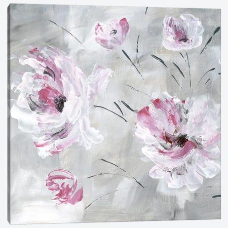 Blush Bloom I Canvas Print #KAT68} by Katrina Craven Canvas Art Print
