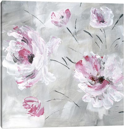 Blush Bloom I Canvas Art Print