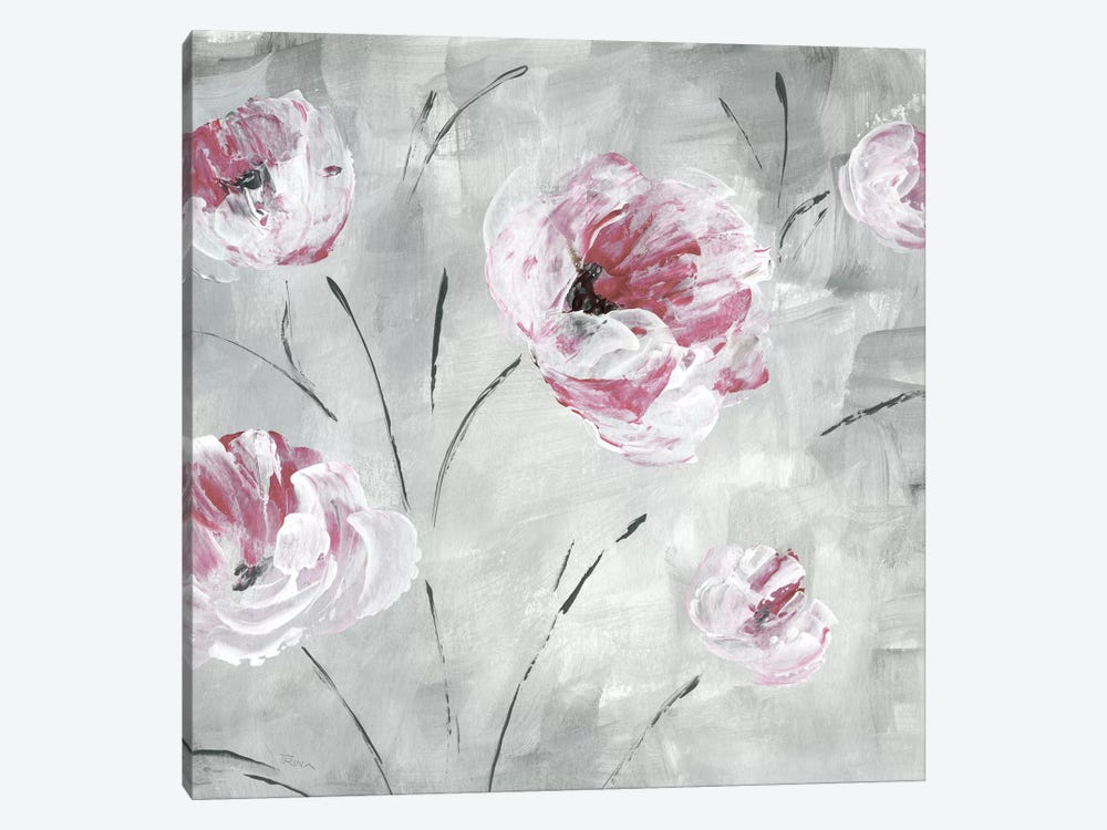 Blush Bloom II by Katrina Craven 1-piece Canvas Print