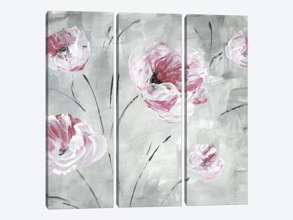 Blush Bloom II by Katrina Craven 3-piece Art Print