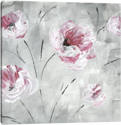 Blush Bloom II Canvas Art Print