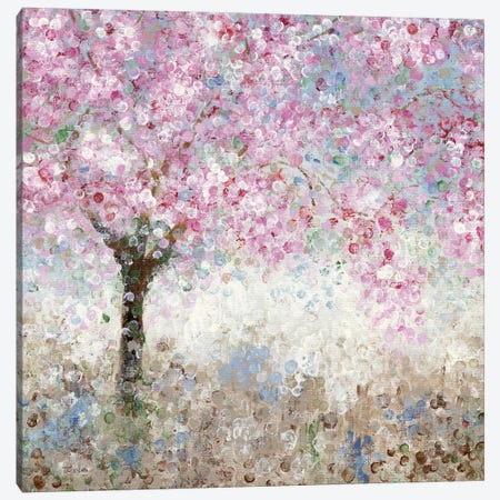 Cherry Blossom Festival I Canvas Print #KAT6} by Katrina Craven Canvas Art Print