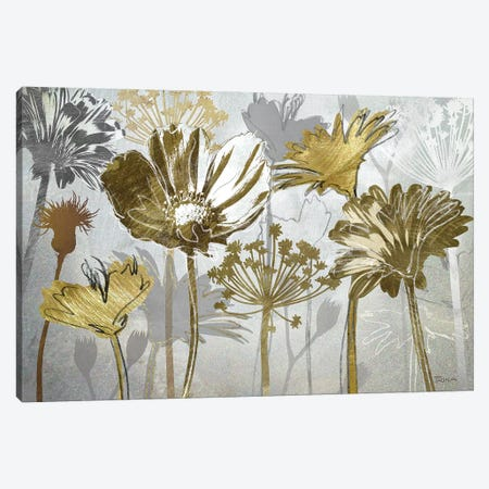 Summer's Field Canvas Print #KAT71} by Katrina Craven Canvas Wall Art
