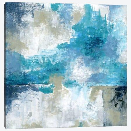 By the Sea Canvas Print #KAT73} by Katrina Craven Canvas Artwork