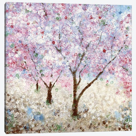 Cherry Blossom Festival II Canvas Print #KAT7} by Katrina Craven Canvas Art Print