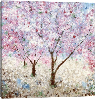 Cherry Blossom Festival II Canvas Art Print