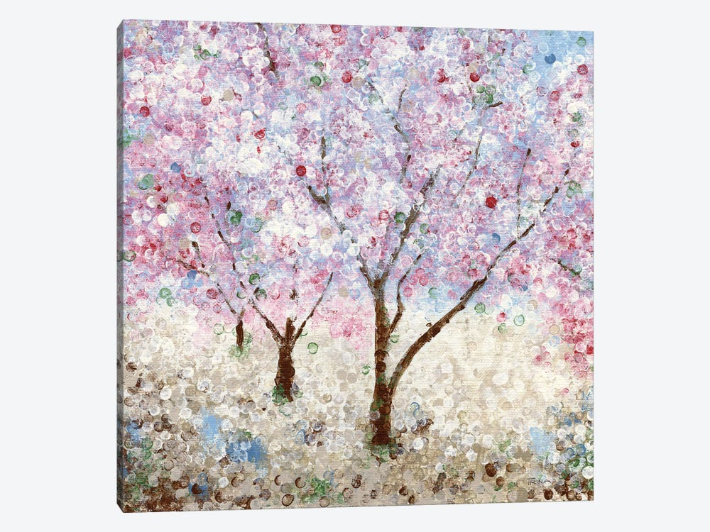 Cherry Blossom Festival II by Katrina Craven 1-piece Canvas Wall Art