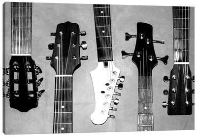 Guitar Head I Canvas Art Print