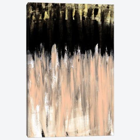Peach Beige Ends Canvas Print #KAW11} by Kali Wilson Canvas Art Print