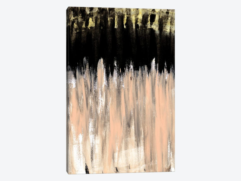 Peach Beige Ends by Kali Wilson 1-piece Canvas Wall Art